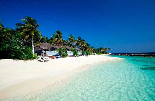 Strand, Beachfront Pool Villa, Centara Grand Island Resort & Spa, Malediven