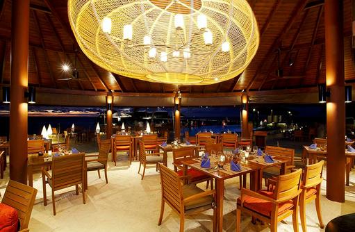 Suan Bua Restaurant, Innenbereich, Centara Ras Fushi Resort & Spa, Maldives