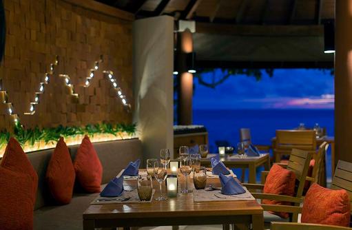 Suan Bua Restaurant, Abendessen, Centara Ras Fushi Resort & Spa, Maldives