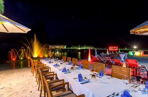 Veranstaltung, Wasserspiele, Centara Ras Fushi Resort & Spa, Maldives