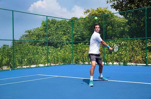 Tennis, Cheval Blanc Randheli, Maldives
