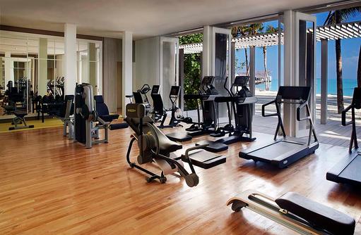 Fitness Studio, Gym, Cheval Blanc Randheli, Maldives