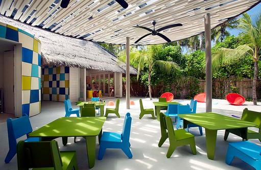 Le Carrousel, Spielplatz, Cheval Blanc Randheli, Maldives