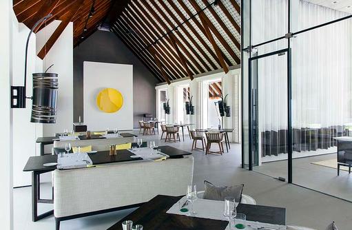 The White Restaurant, Cheval Blanc Randheli, Maldives