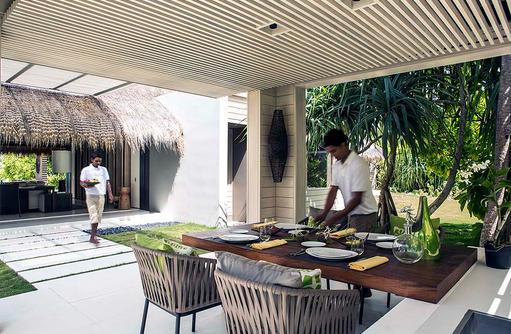 Island Villa, Private Dining, Cheval Blanc Randheli, Maldives