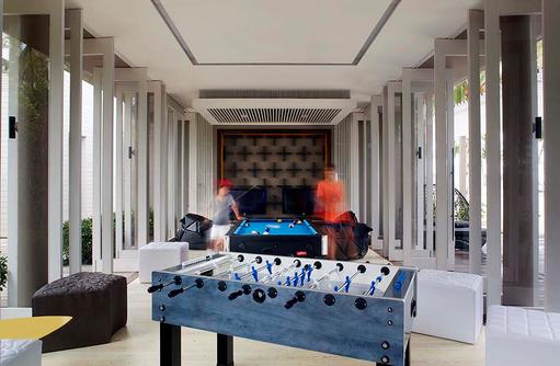 Le Paddock, Teens Club, Billard, Tischtennis, Cheval Blanc Randheli, Maldives