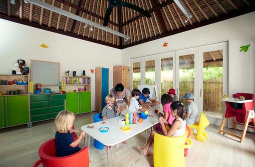 Le Carrousel, Kinder Club, Cheval Blanc Randheli, Maldives