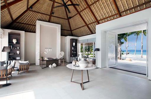 Spa Eingang, Well-Being, Cheval Blanc Randheli, Maldives
