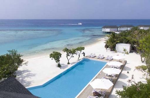 Pool am Strand, Cinnamon Dhonveli Maldives