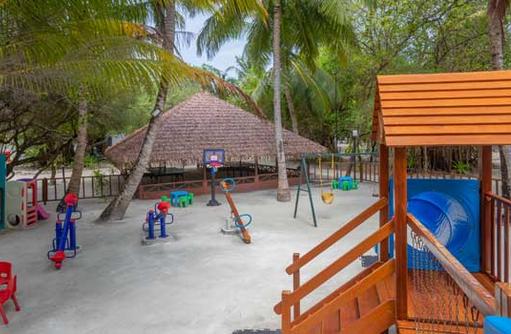 Spielplatz, Cinnamon Dhonveli Maldives