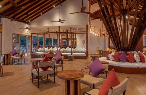 Restaurant, Cinnamon Dhonveli Maldives