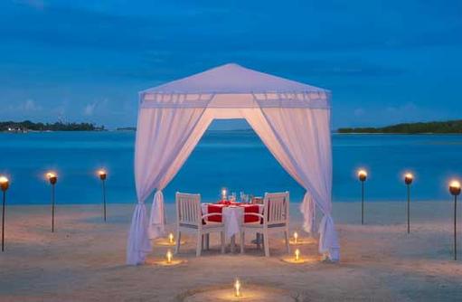 Candle Light Dinner, Cinnamon Dhonveli Maldives