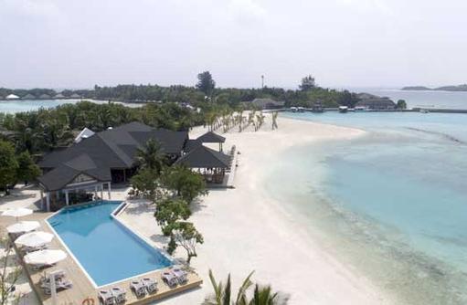 Drohnenaufnahme, Cinnamon Dhonveli Maldives