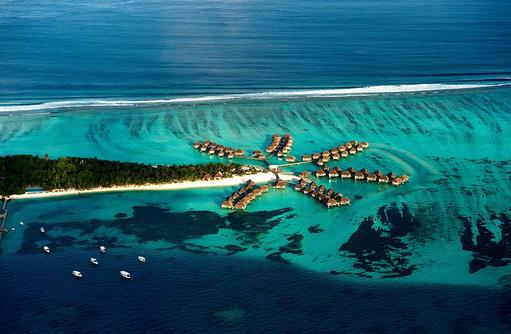 Luftansicht, Club Med Kani, Maldives