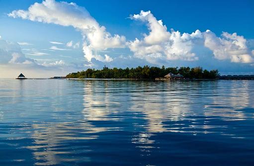 kristallklares Wasser, Coco Bodu Hithi, Maledives