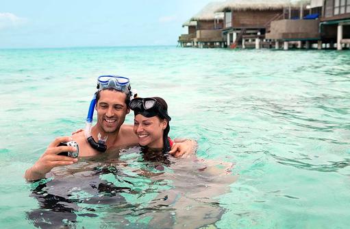 Schnorcheln am Hausriff, Coco Bodu Hithi, Maledives