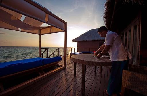 Exzellenter privater Butlerservice der Coco Residence, Coco Bodu Hithi, Maledives