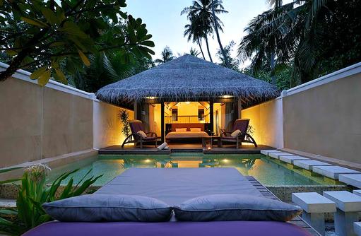 Pool der Island Villa, Coco Bodu Hithi, Maledives