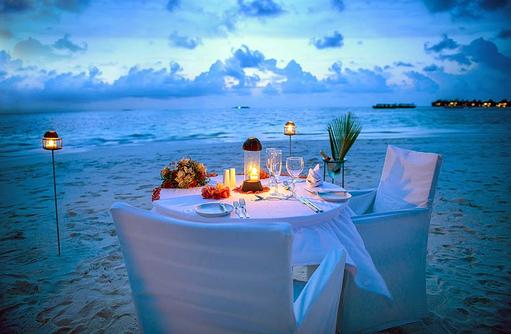 Den Augenblick zu zwei genießen, Coco Palm Dhuni Kolhu, Malediven