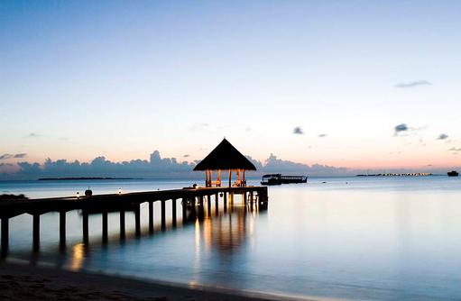Ankunftssteg, Coco Palm Dhuni Kolhu, Malediven