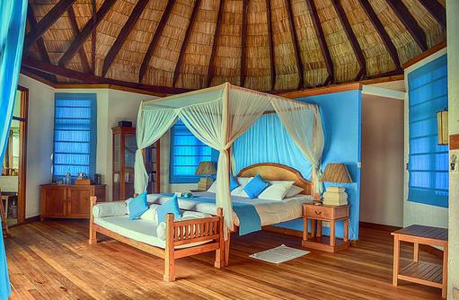 Schlafen in einer Lagoon Villa, Coco Palm Dhuni Kolhu, Malediven