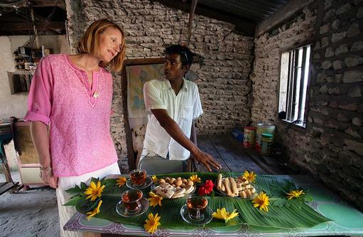 Ausflug in ein maledivisches Dorf, Coco Palm Dhuni Kolhu, Malediven