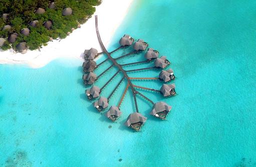 Vogelperspektive Lagoon Villen, Coco Palm Dhuni Kolhu, Malediven