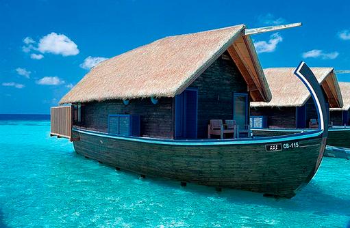 Dhoni Suite, Aussenansicht, Cocoa Island by Como, Malediven
