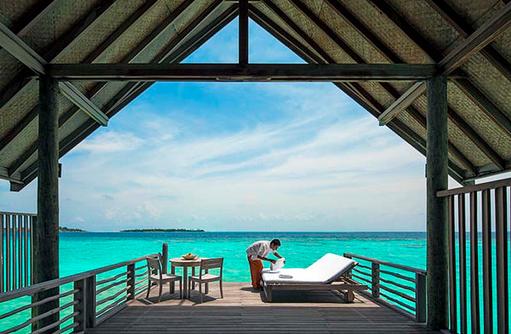 Loft Villa, Sonnendeck, Cocoa Island by Como, Malediven