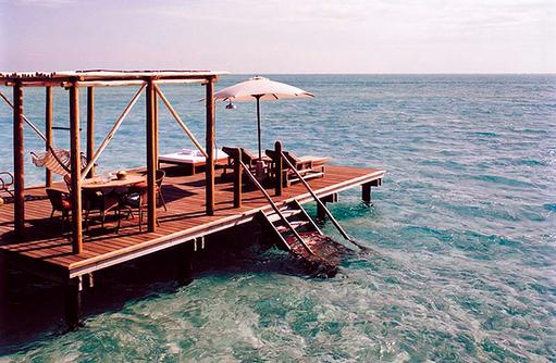 Como Sunset Villa, Terrasse, Meerzugang, Cocoa Island by Como, Malediven