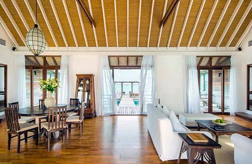 Como Villa, Wohnen und Essen, Cocoa Island by Como, Malediven