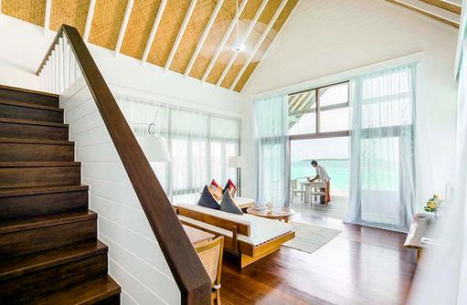 Loft Villa, Wohnen, Cocoa Island by Como, Malediven