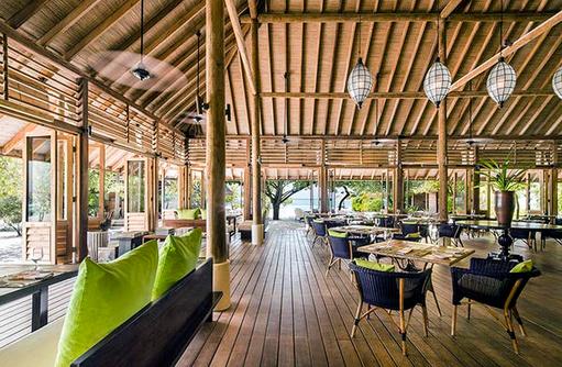 Ufa Restaurant, Innen, Cocoa Island by Como, Malediven