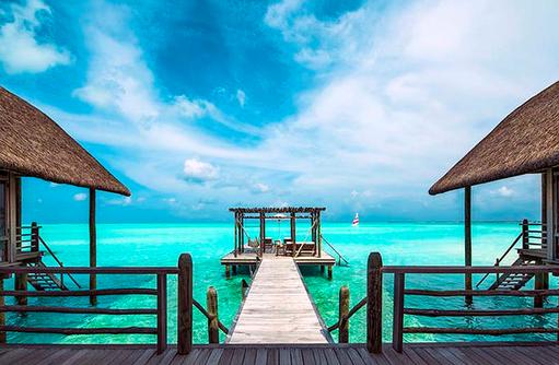 Como Villa, Sonnendeck, Cocoa Island by Como, Malediven