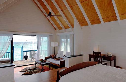 Dhoni Suite, Innen, Schlafen mit Meerblick, Cocoa Island by Como, Malediven