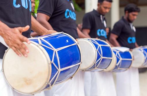 Begrüßgung, Cocoon Maldives