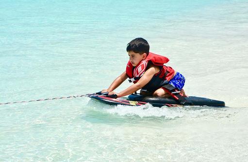 Wassersport für Kids, Cocoon Maldives