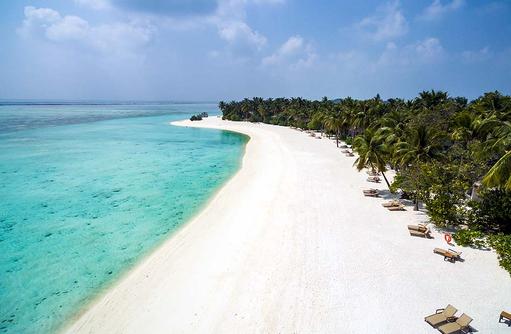 Breiter Sandstrand, Cocoon Maldives