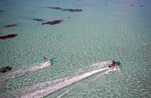 Jetski und Wasserski, Cocoon Maldives