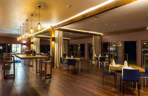 Manta Restaurant Inneneinrichtung, Cocoon Maldives