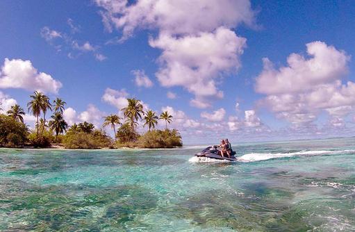 Jetski fahren,Cocoon Maldives