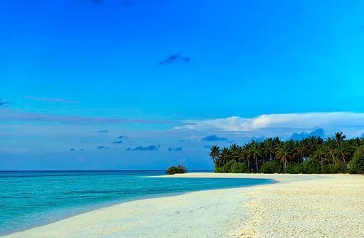 Strandaufnahme, Cocoon Maldives