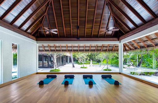 Yoga Studio, COMO Maalifushi, Maldives