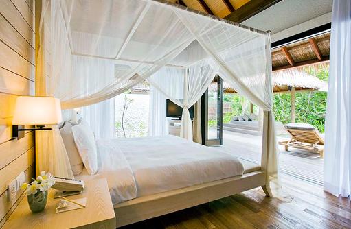 Himmelbett, Garden Suite, COMO Maalifushi, Maldives