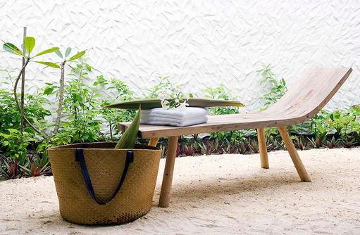 Details im Badezimmer, Garden Suite, COMO Maalifushi, Maldives
