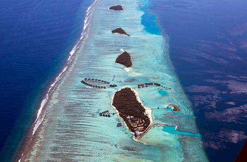 Inselüberblick, COMO Maalifushi, Maldives