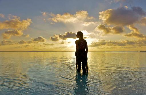 Strand, Lifestyle, Sunset, Conrad Maldives Rangali Island, Maldives