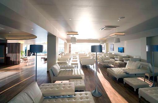 Seaplane Lounge, Warten auf Transfer, Conrad Maldives Rangali Island, Maldives