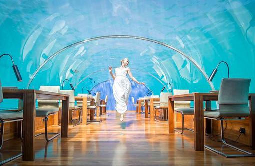 Ithaa Undersea Restaurant, Unterwasser Restaurant, Wedding, Conrad Maldives Rangali Island, Maldives
