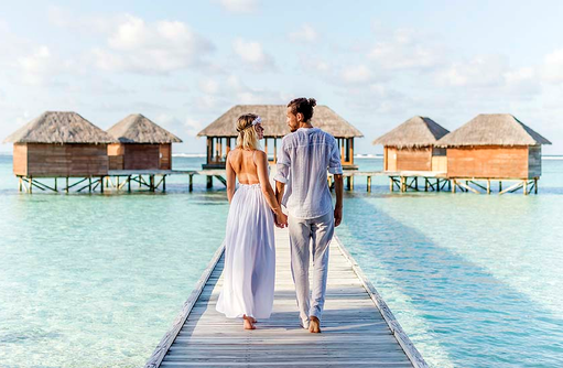 Couple, Hand in Hand, Conrad Maldives Rangali Island, Maldives